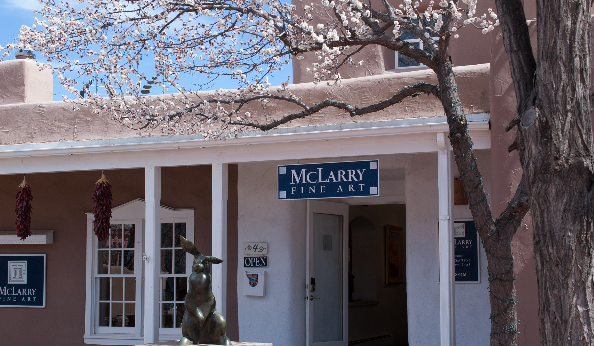 McLarry Fine Art gallery in Santa Fe New Mexico