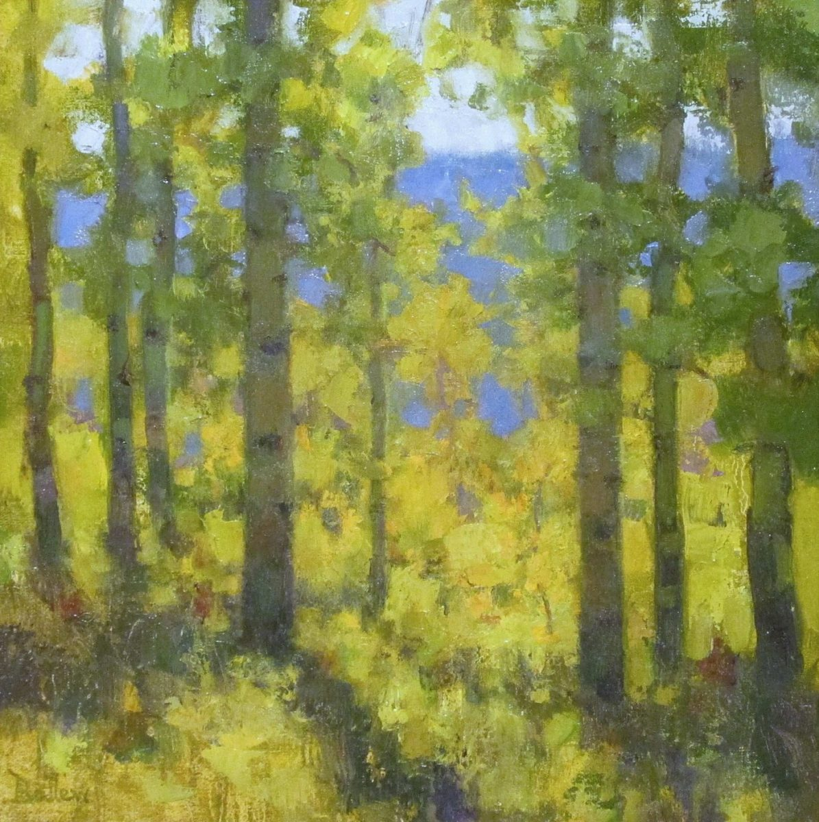 At the Edge of October by artist David Ballew