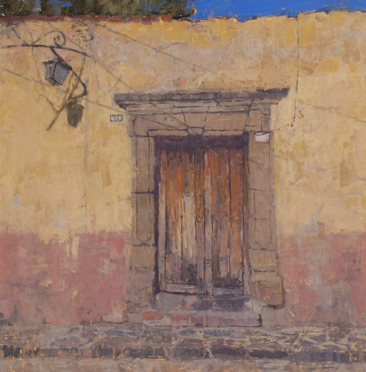 Old Door by Frank Gardner