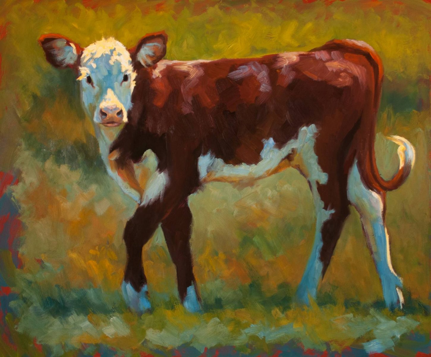 A Spring in Her Step by artist Cheri Christensen