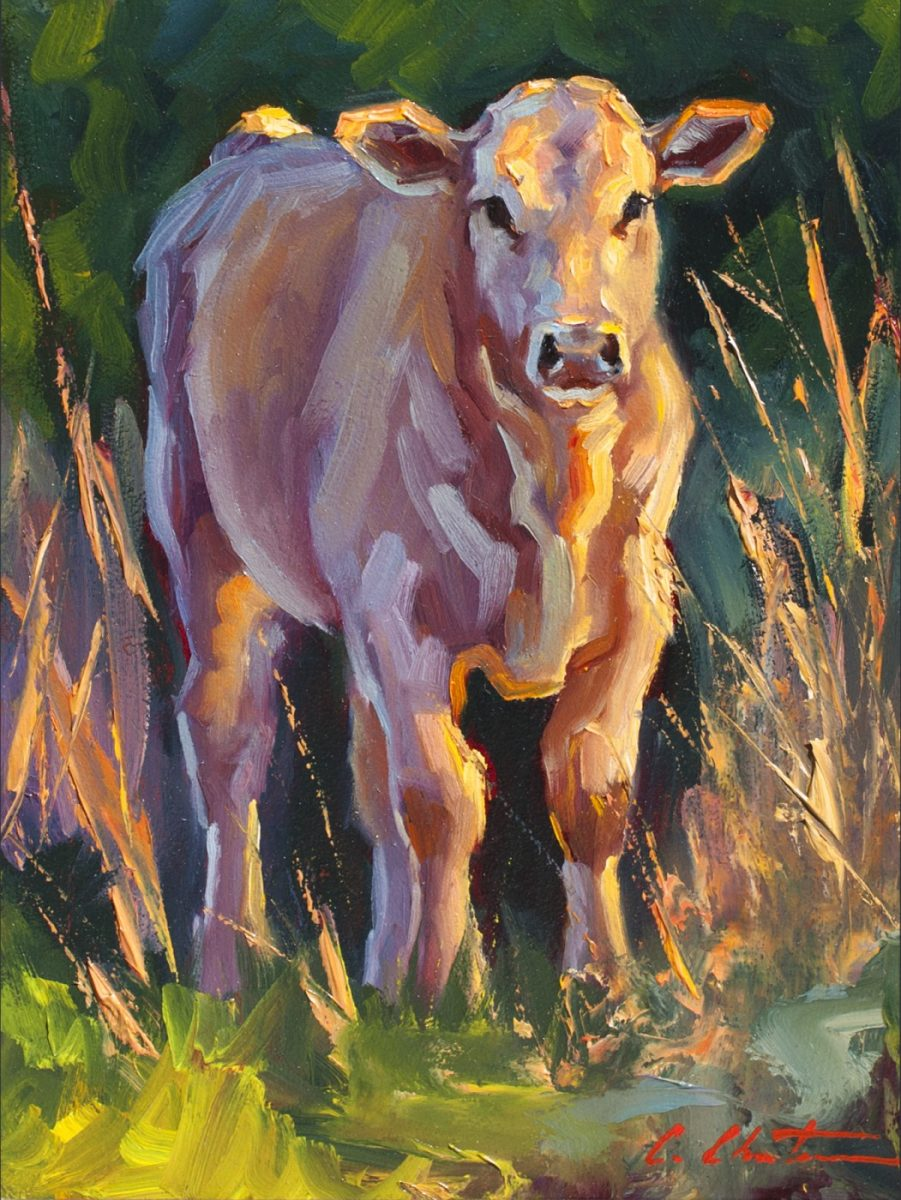 Splendor in the Grass painting by Cheri Christensen