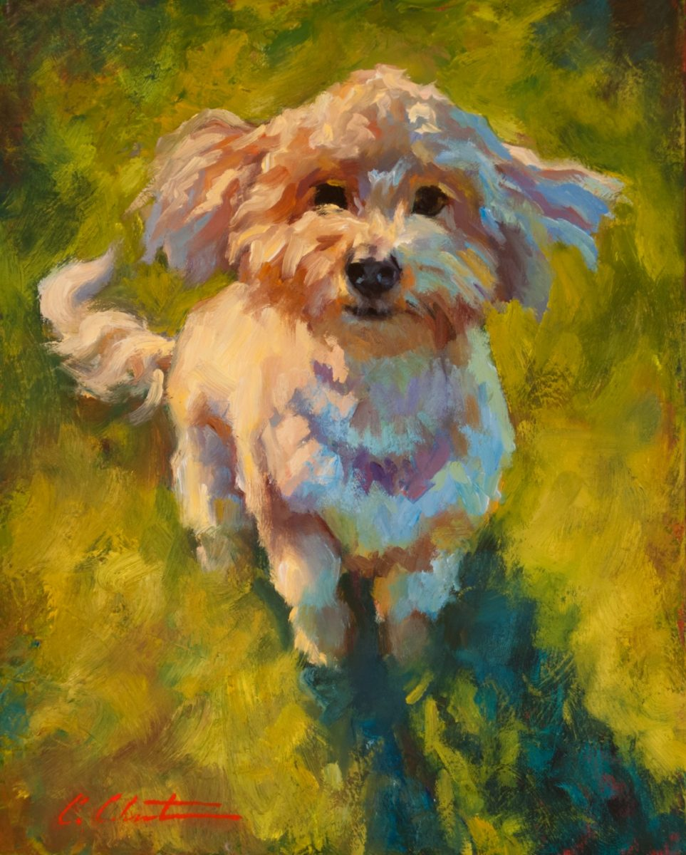 Sophie painting by Cheri Christensen