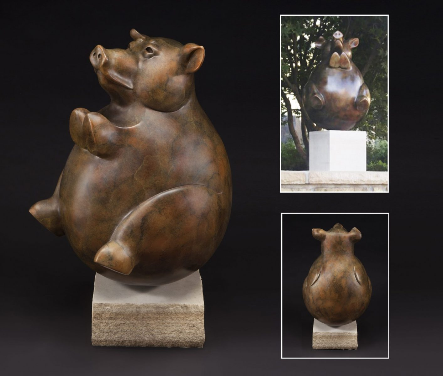 Whole Hog sculpture by Tim Cherry