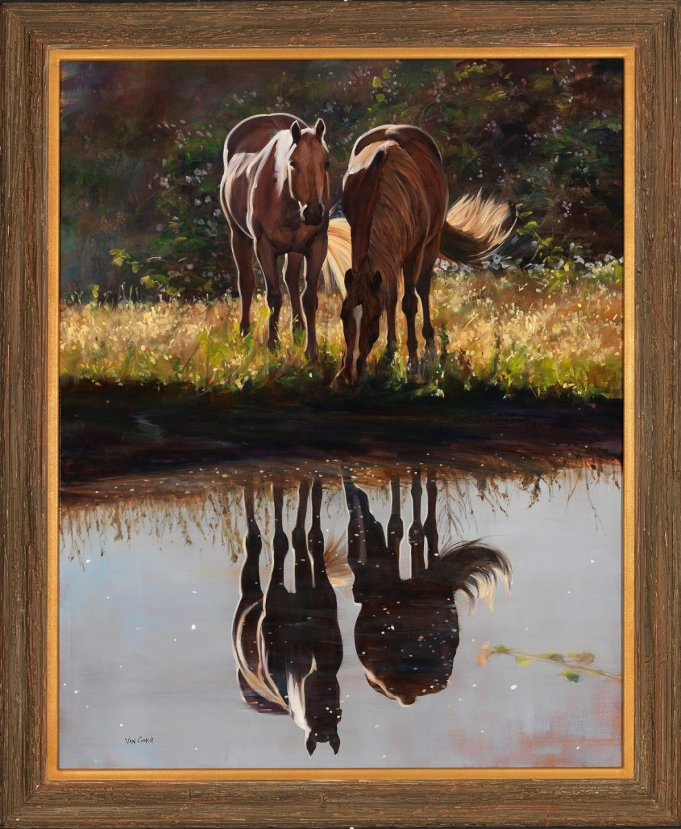 Reflection of Love painting by Paul Van Ginkel