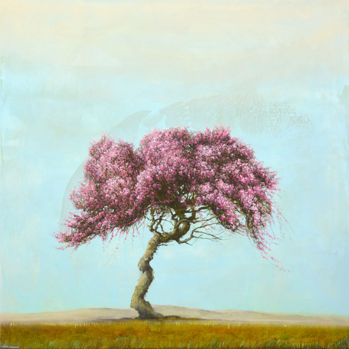 tree painting by artist Robert Marchessault