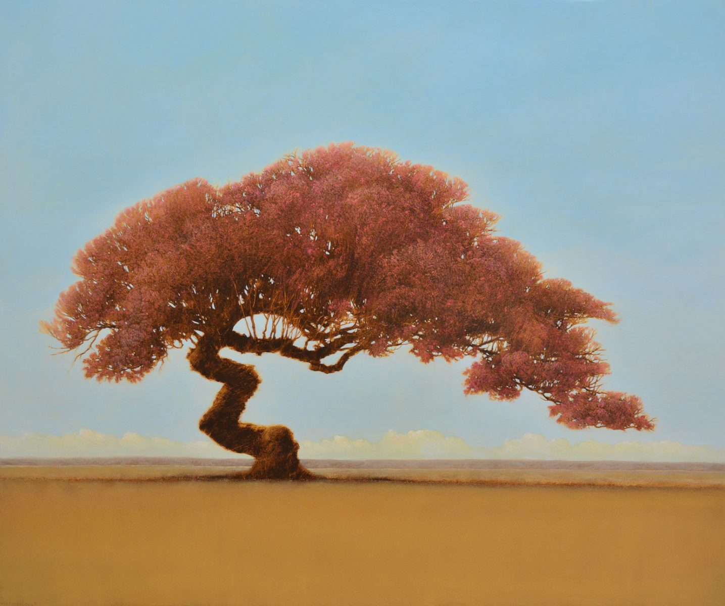 Azaliana tree painting by Robert Marchessault