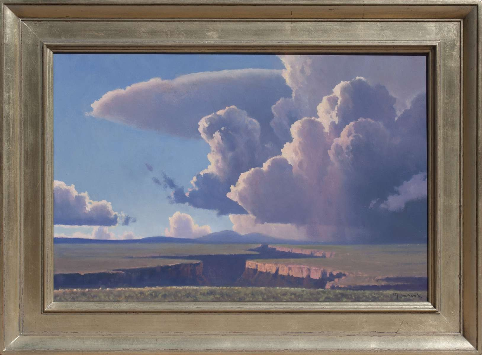 Close to Evening Near Taos by Michael Stack