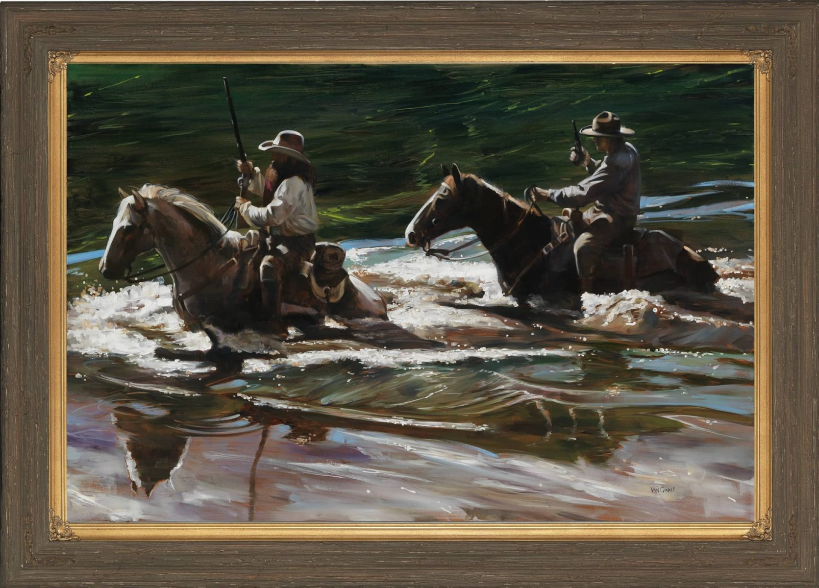 Hunting for Bounty painting by Paul Van Ginkel