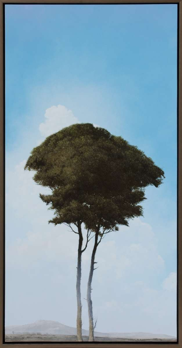 Companions tree painting by Robert Marchessault
