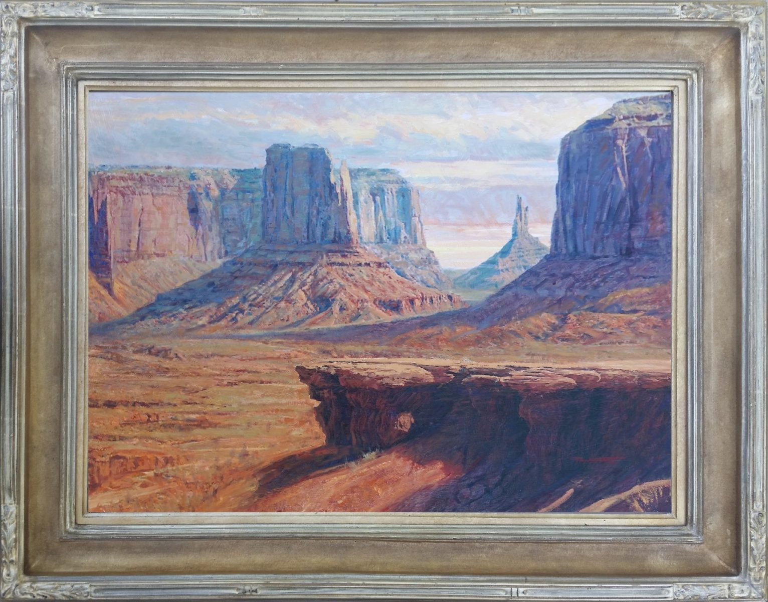Monument Valley painting by Phill Nethercott