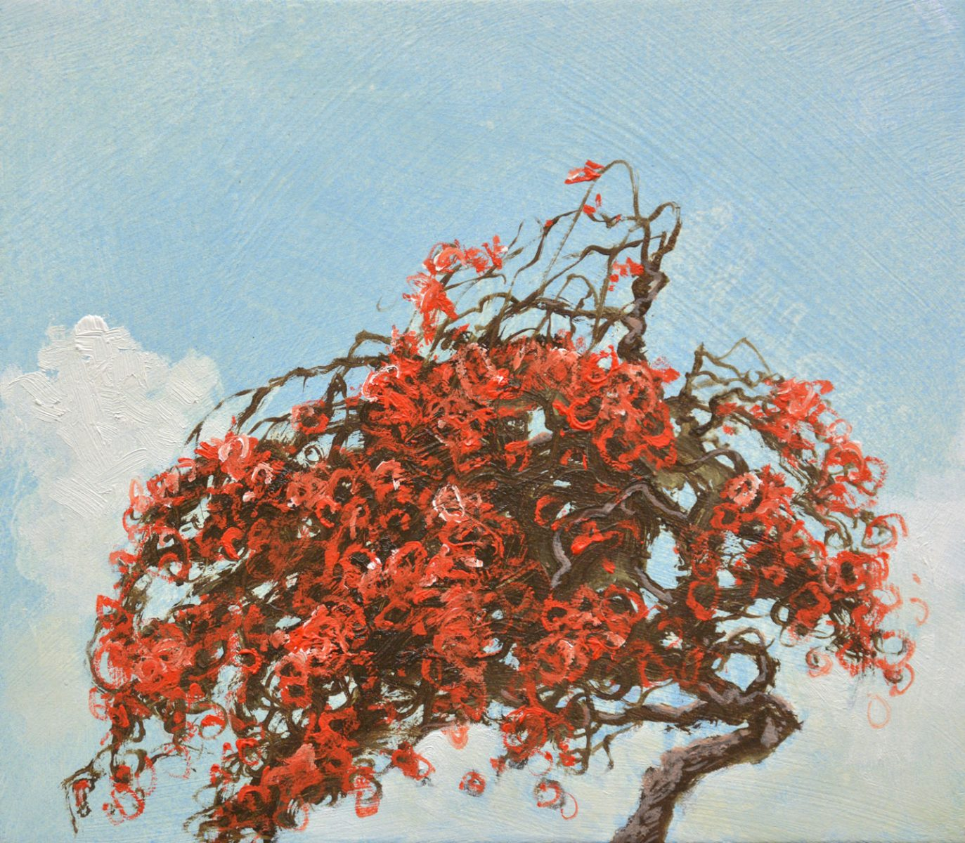 Rouge painting by Robert Marchessault