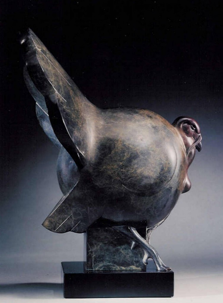 Wildlife bronze animal sculptures by tim cherry