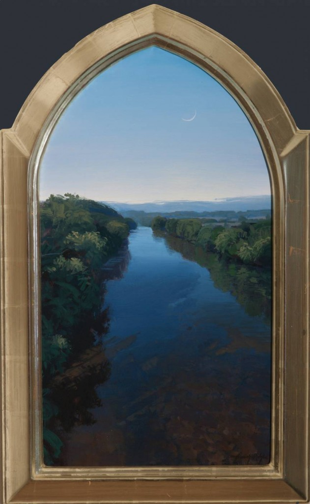 landscape painting by artist Brad Aldridge