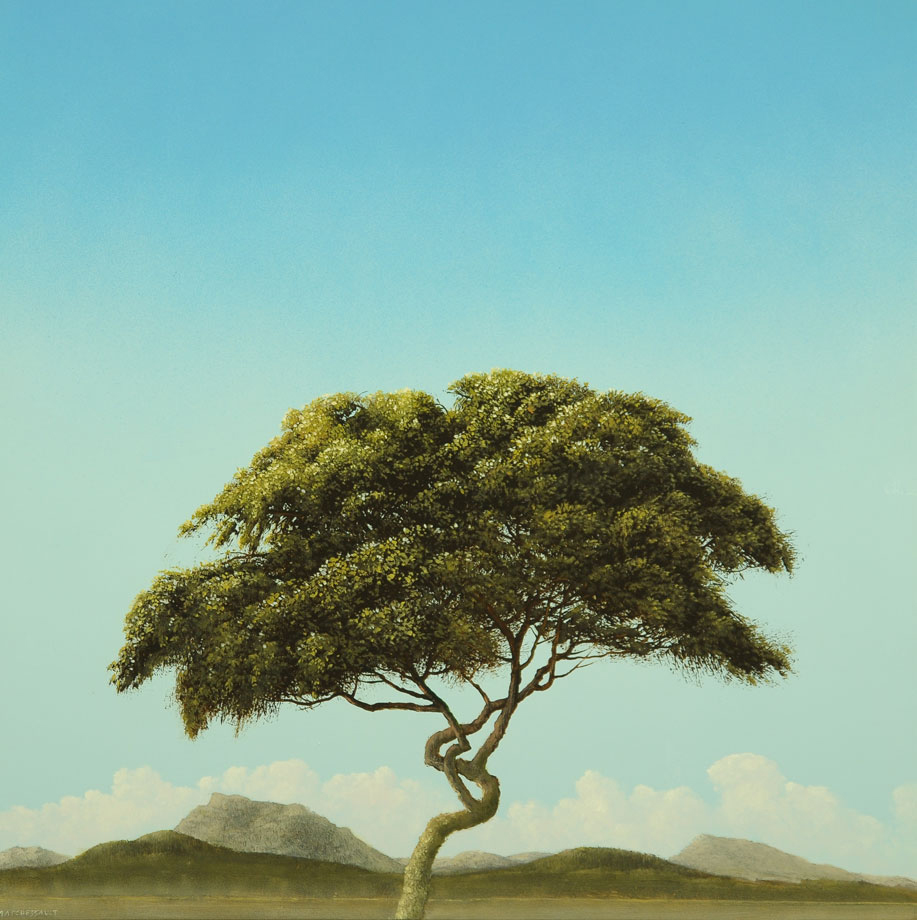 tree painting by Robert Marchessault