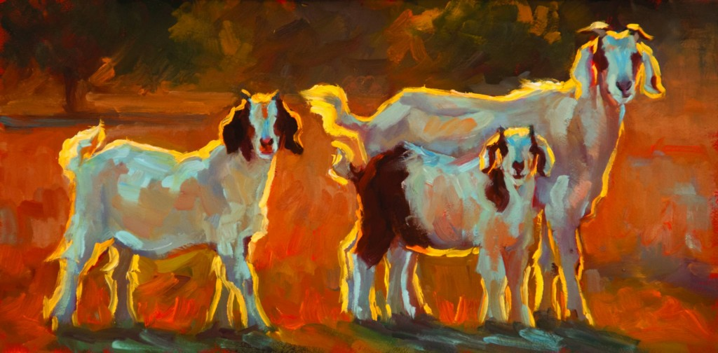 Painting by Cheri Christensen