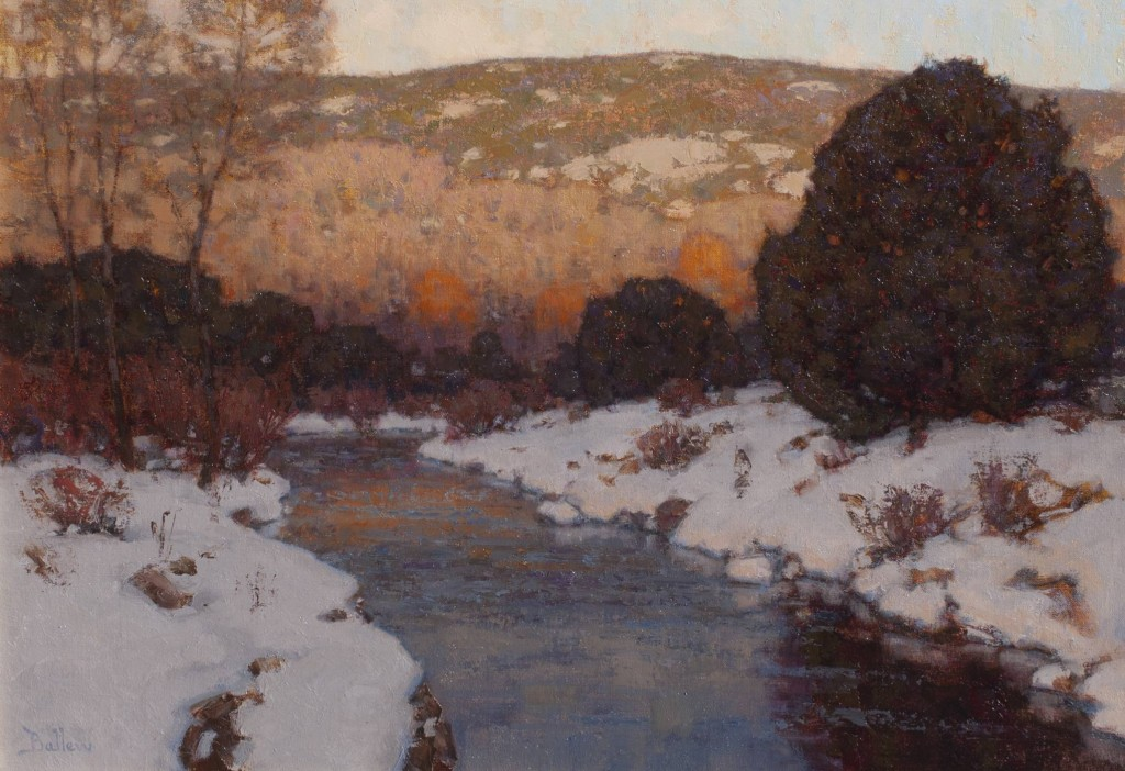 Oil Landscape Painting by David Ballew