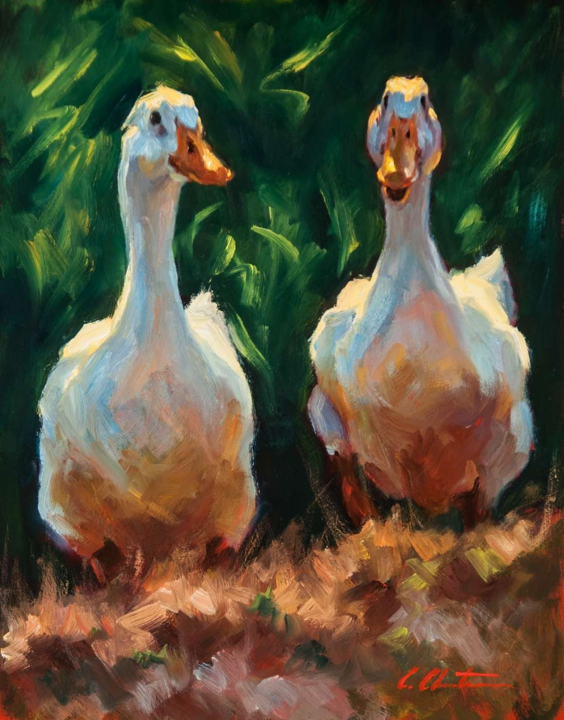 animal painting by Cheri Christensen