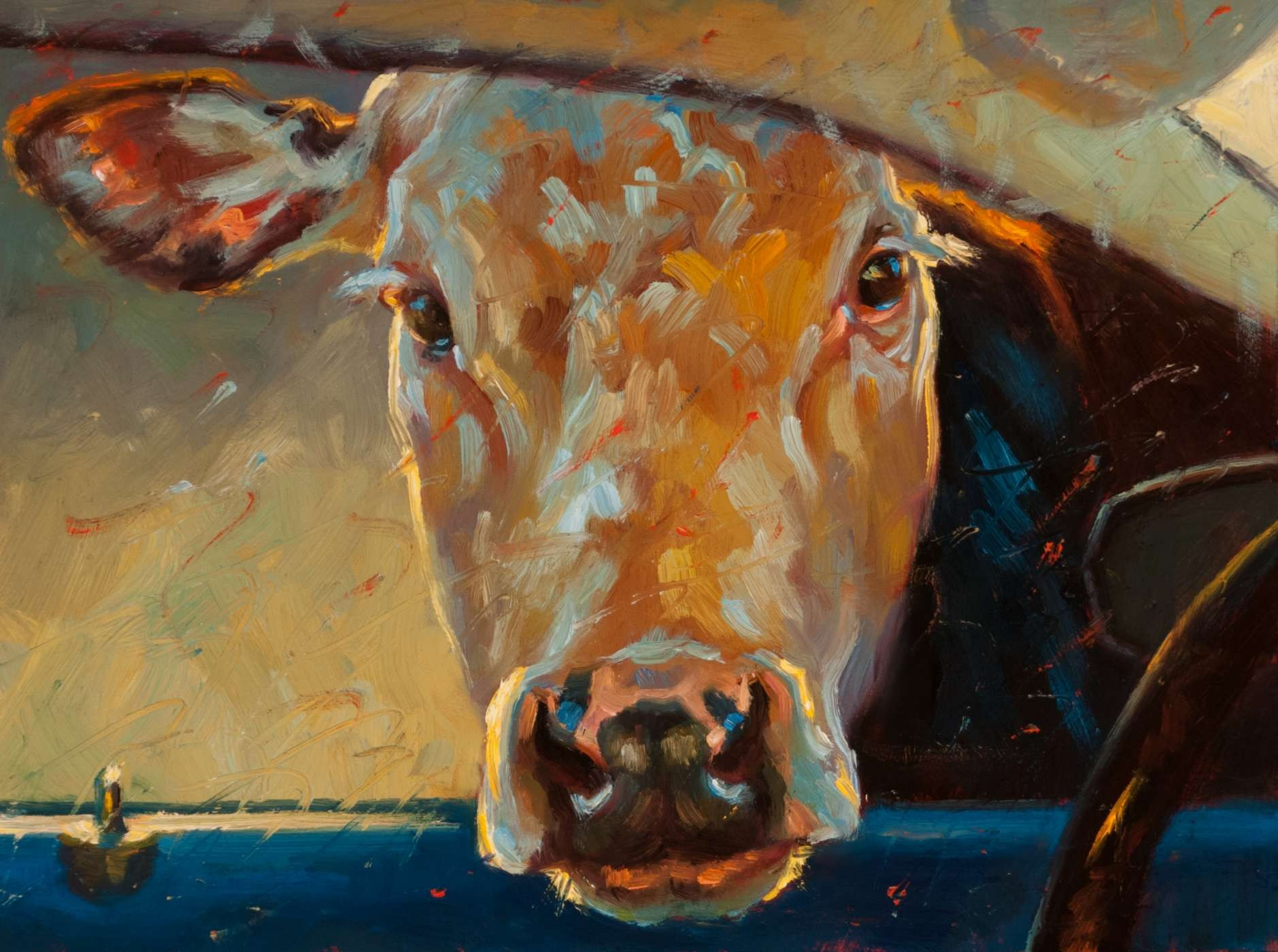 animal painting by artist Cheri Christensen