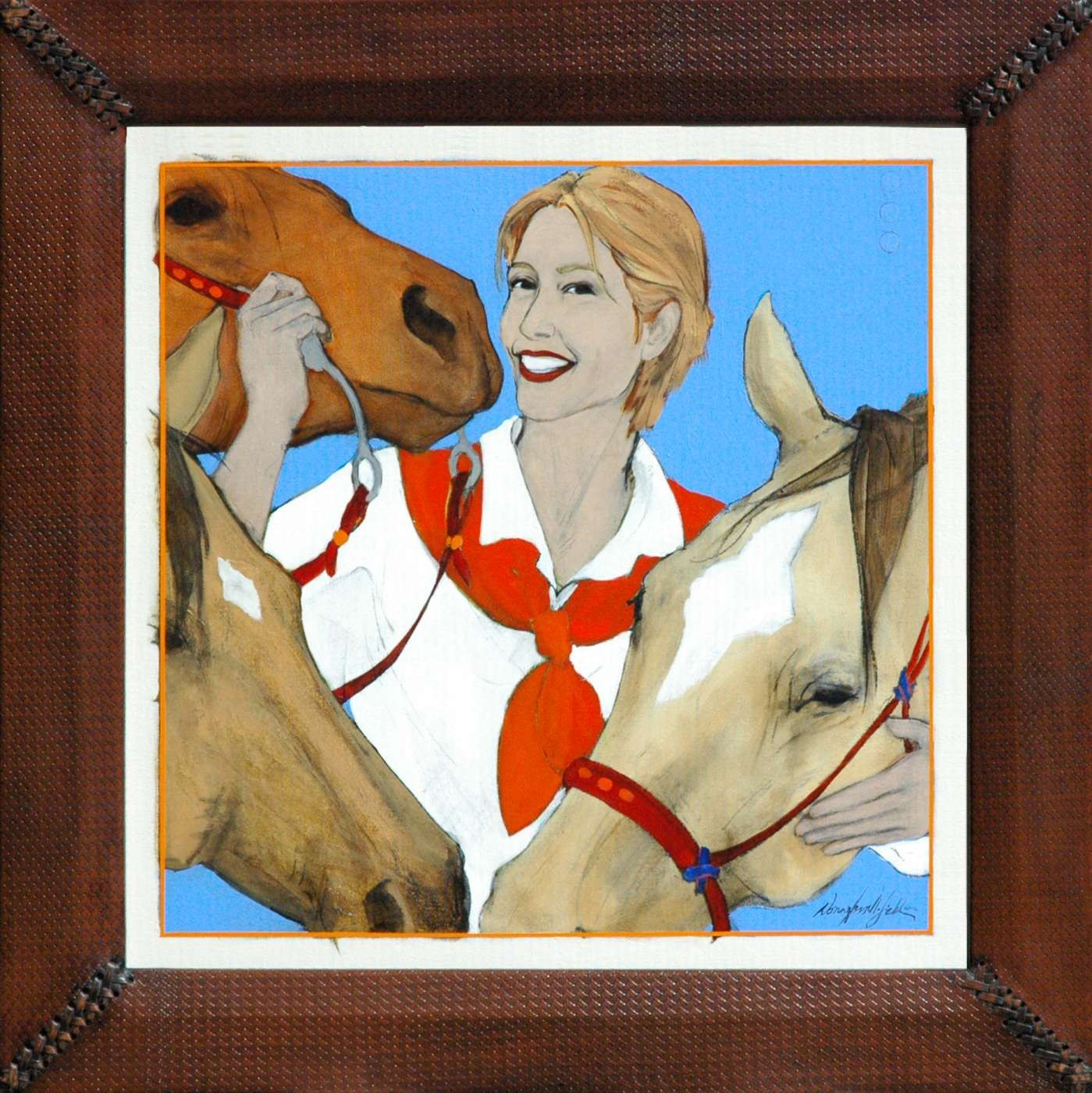 painting by Donna Howell-Sickles