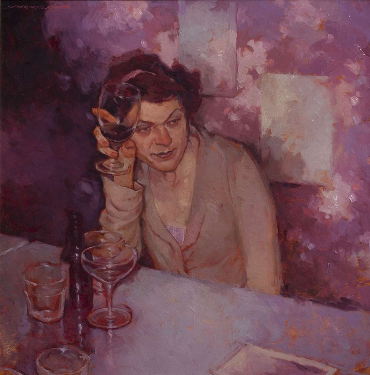 Figure painting by artist Joseph Lorusso