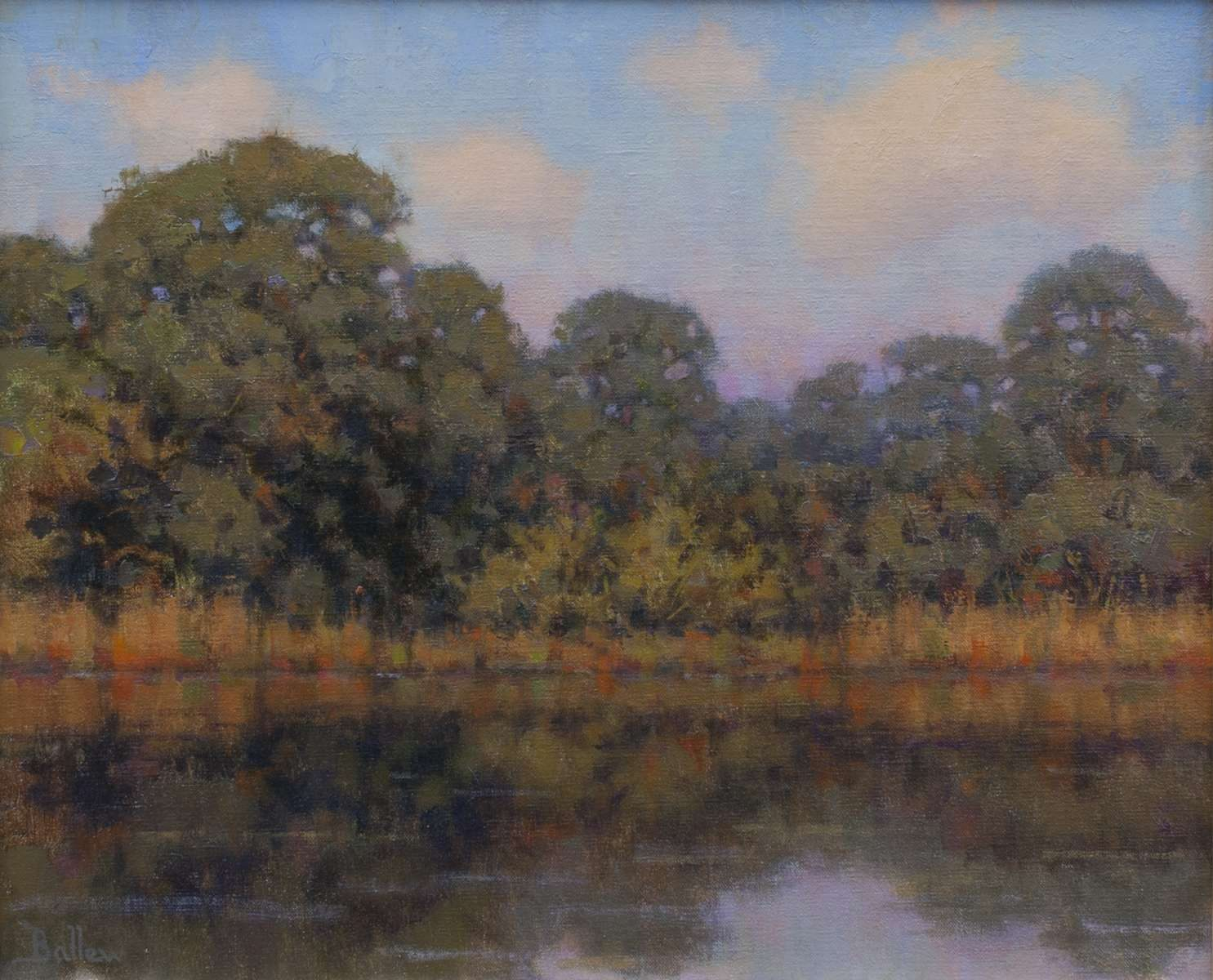 Autumn Reflections by David Ballew