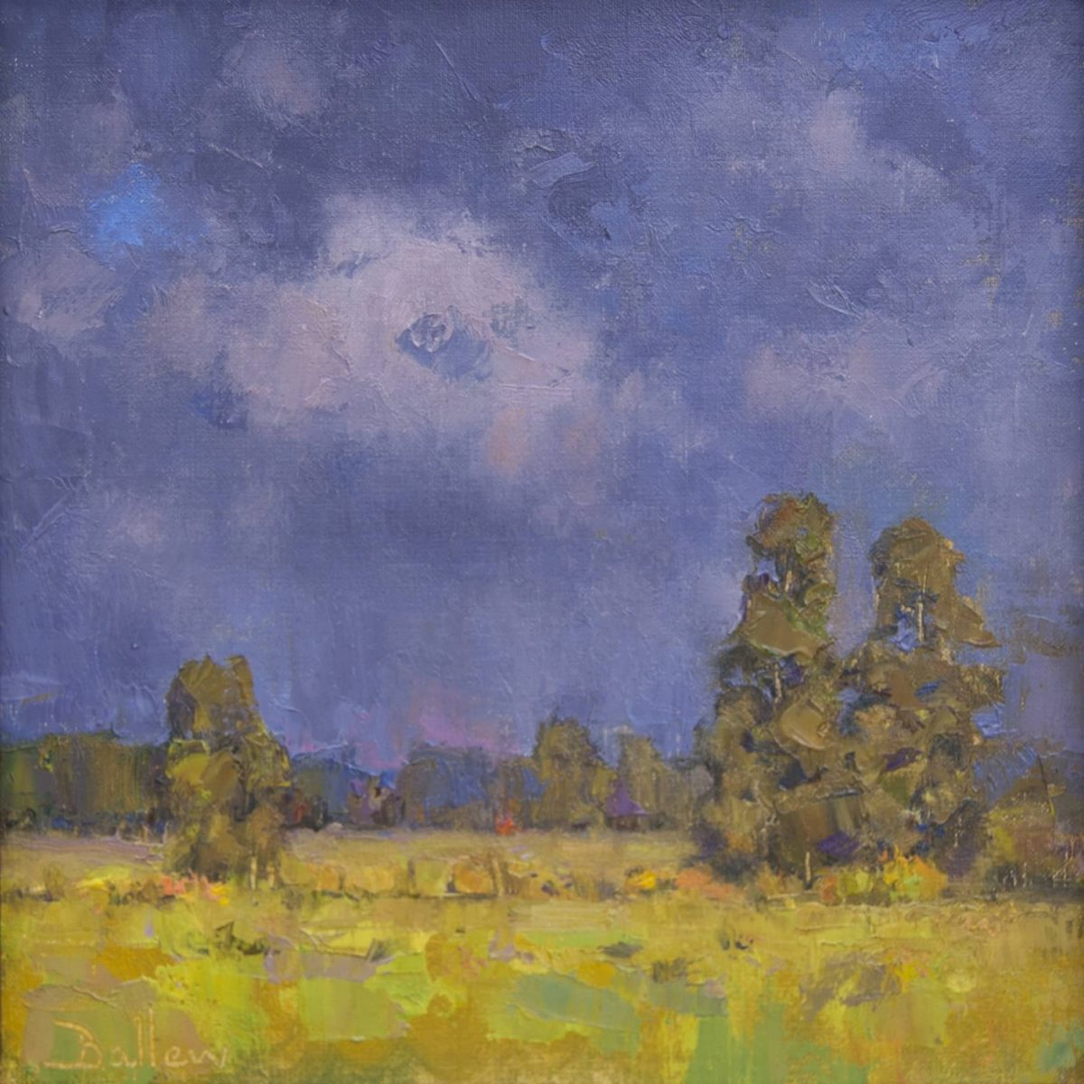 Passing Showers painting by David Ballew