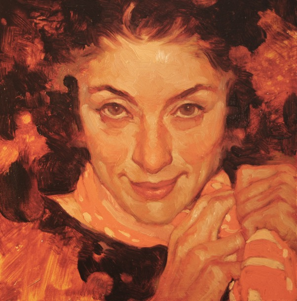 Rebecca oil painting by Joseph Lorusso