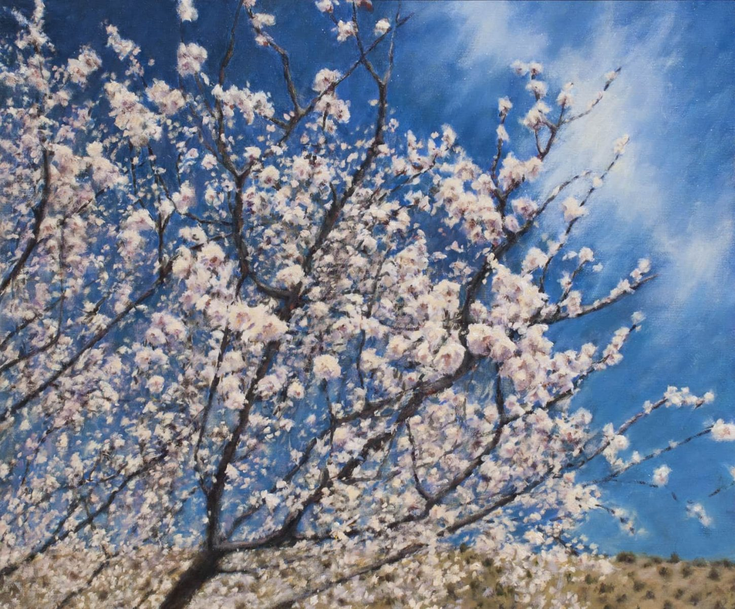Spring is in the air painting by Peter Hagen