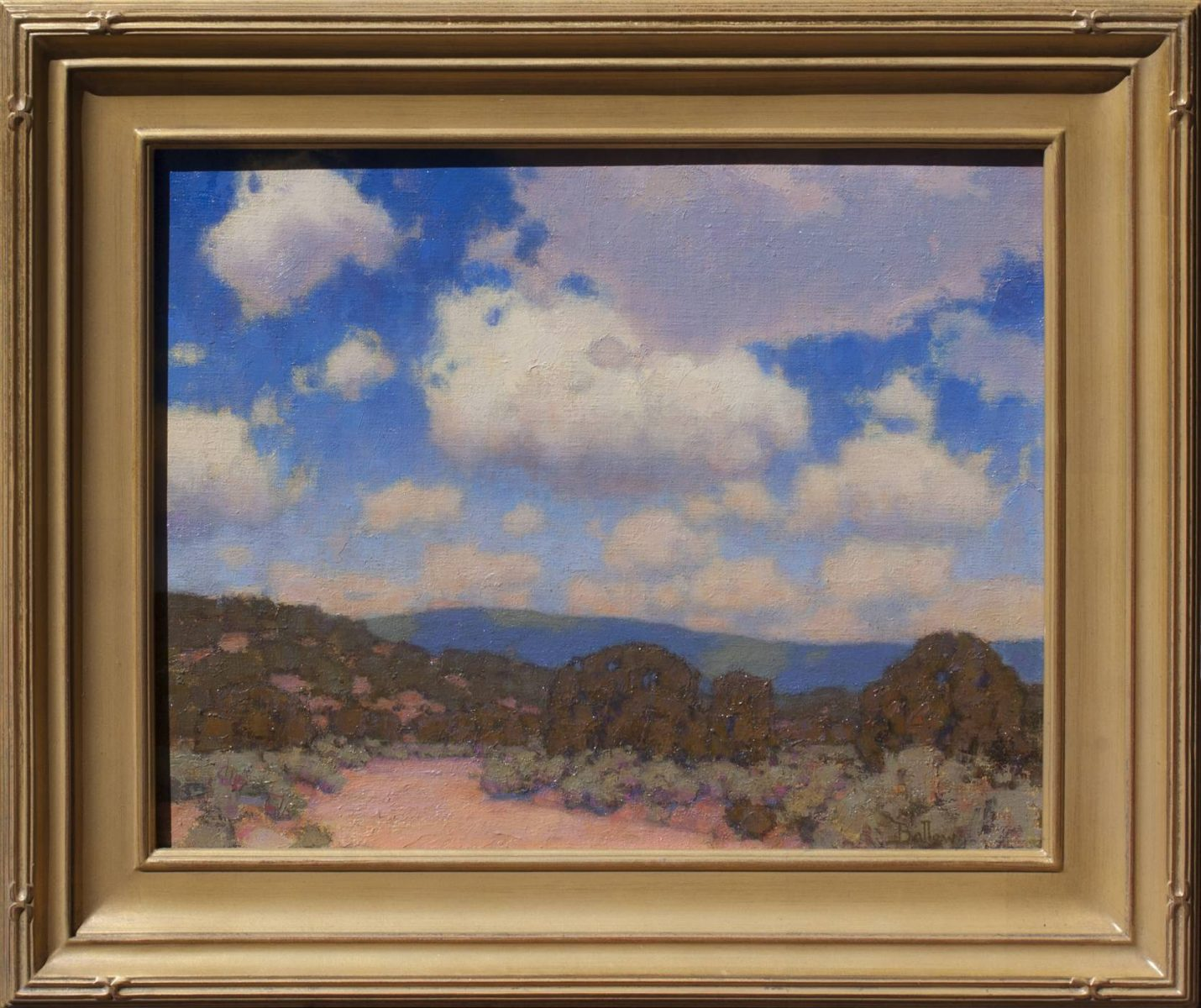 Summer Cumulus painting by David Ballew