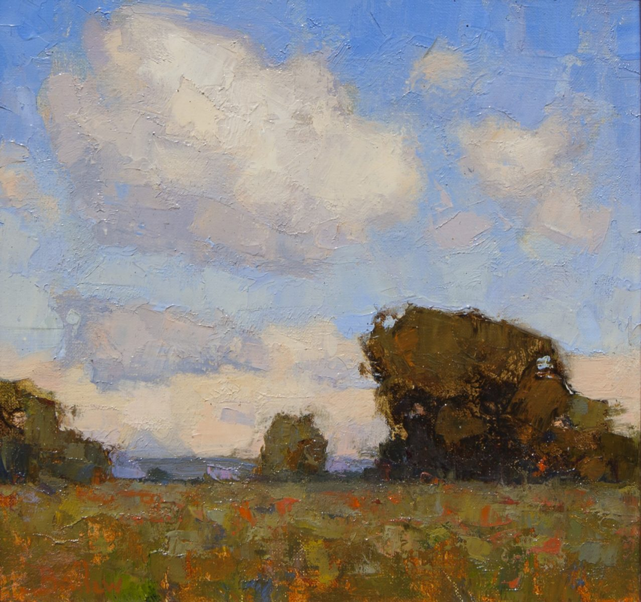 Summer Pastures painting by David Ballew