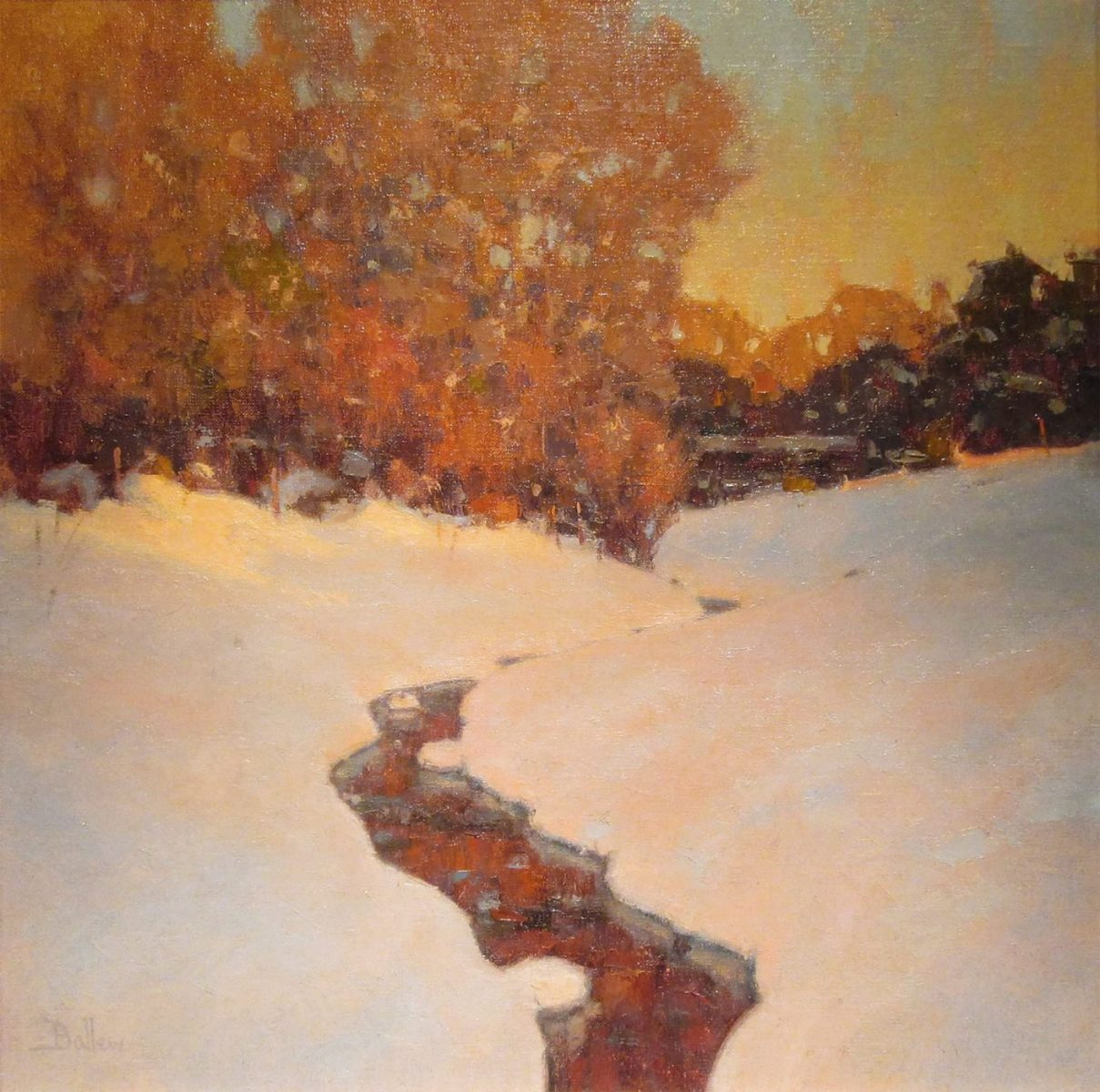 Winter Evening by David Ballew