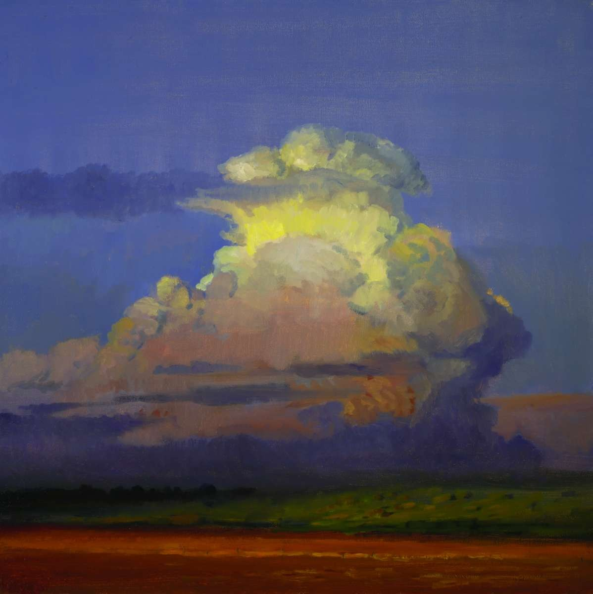 Sunset Clouds by artist Peter Campbel
