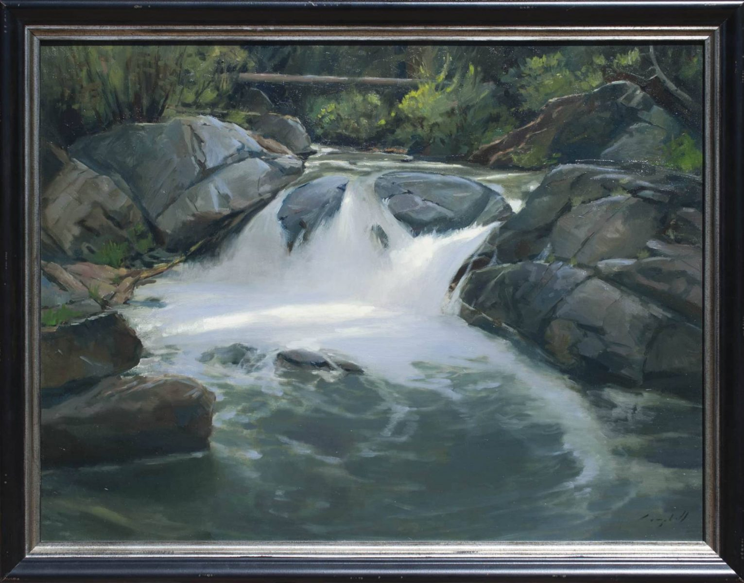 Cascade Creek by Peter Campbell