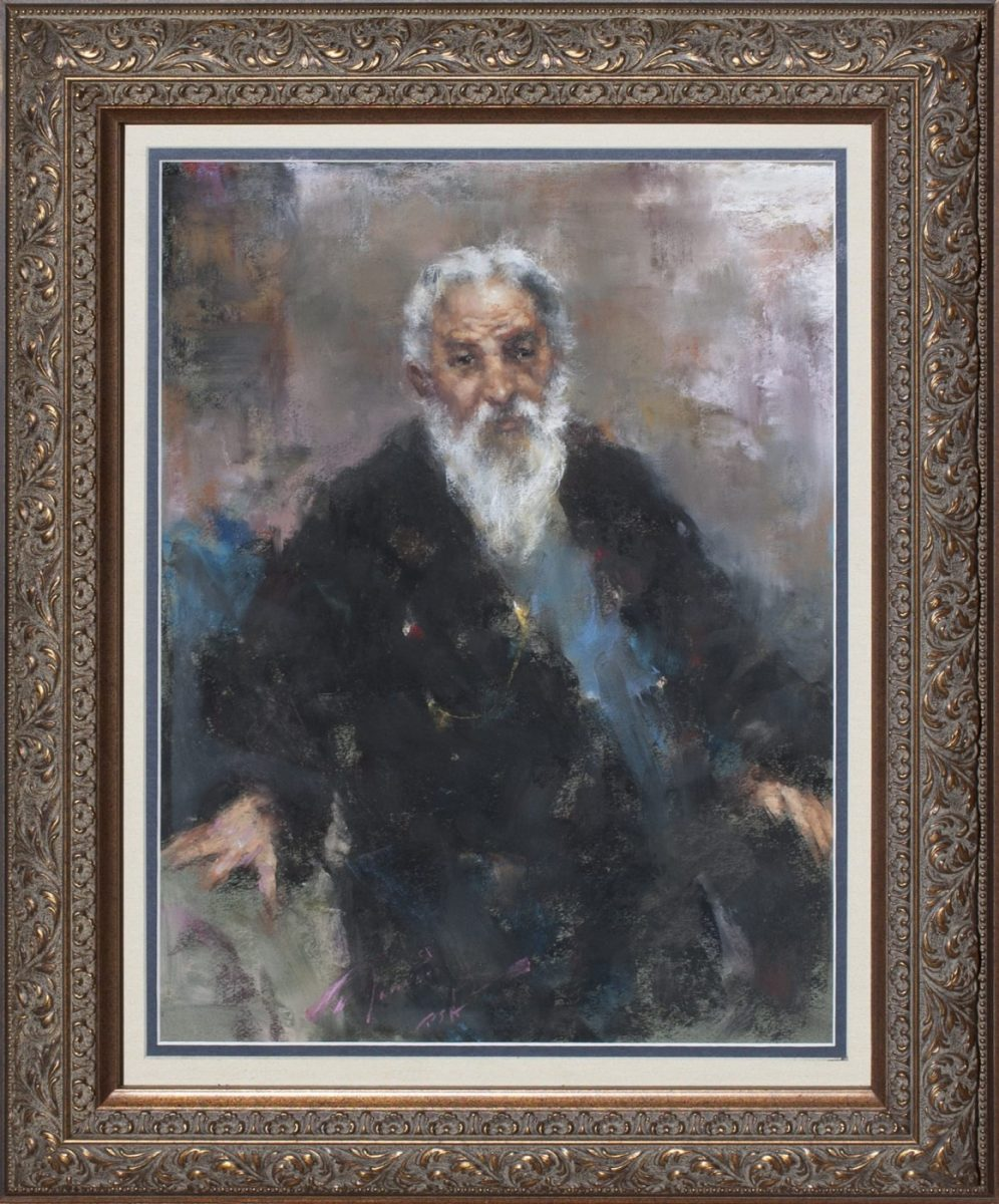 An Old Gentleman by artist Ramon Kelley