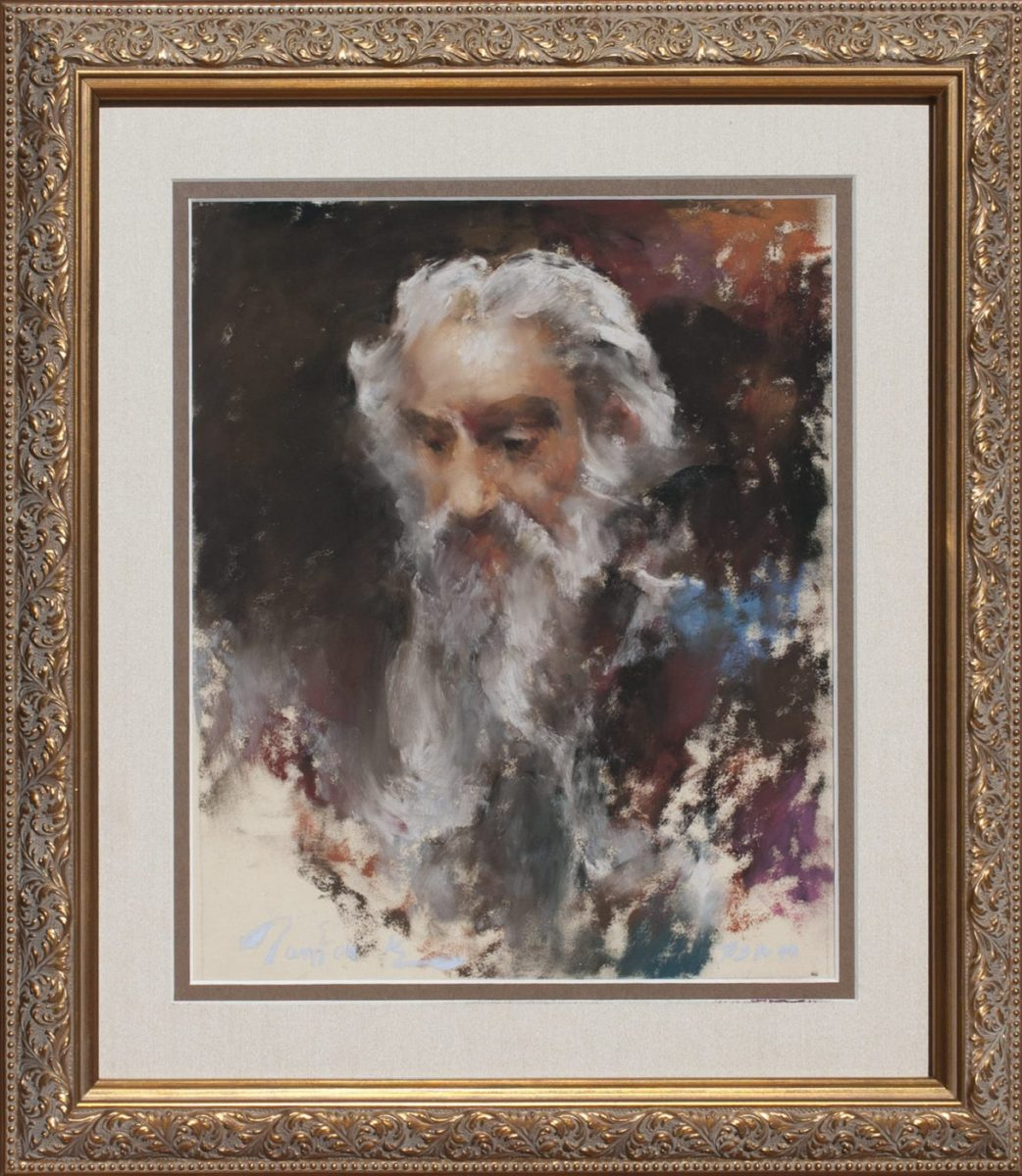 Bearded Man Samuel by artist Ramon Kelley