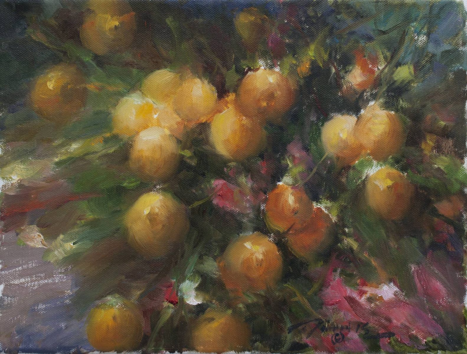 Spanish Oranges by Ramon Kelley