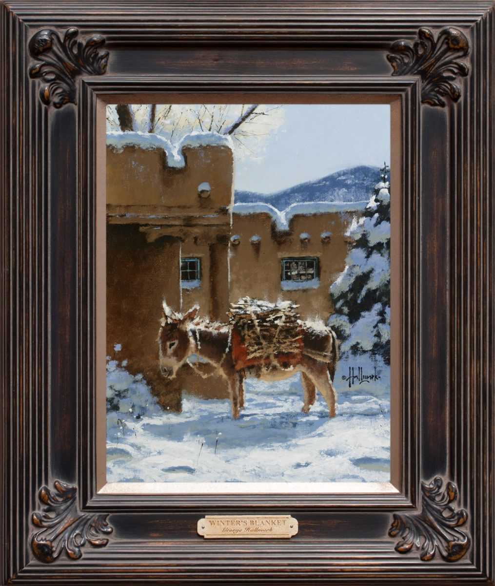 Winter's Blanket painting by George Hallmark